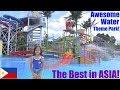 My Children's Trip to a Water Theme Park in the Philippines! Kids' Water Playground. Kiddie Slides