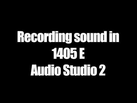 1405 E recording studio training and instructions