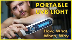 Treating Psoriasis | Portable UVB Light Therapy Device 2019