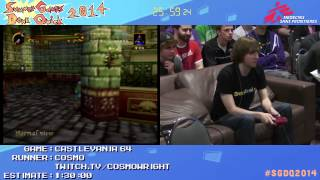 Summer Games Done Quick 2014 - Part 62 - Castlevania 64