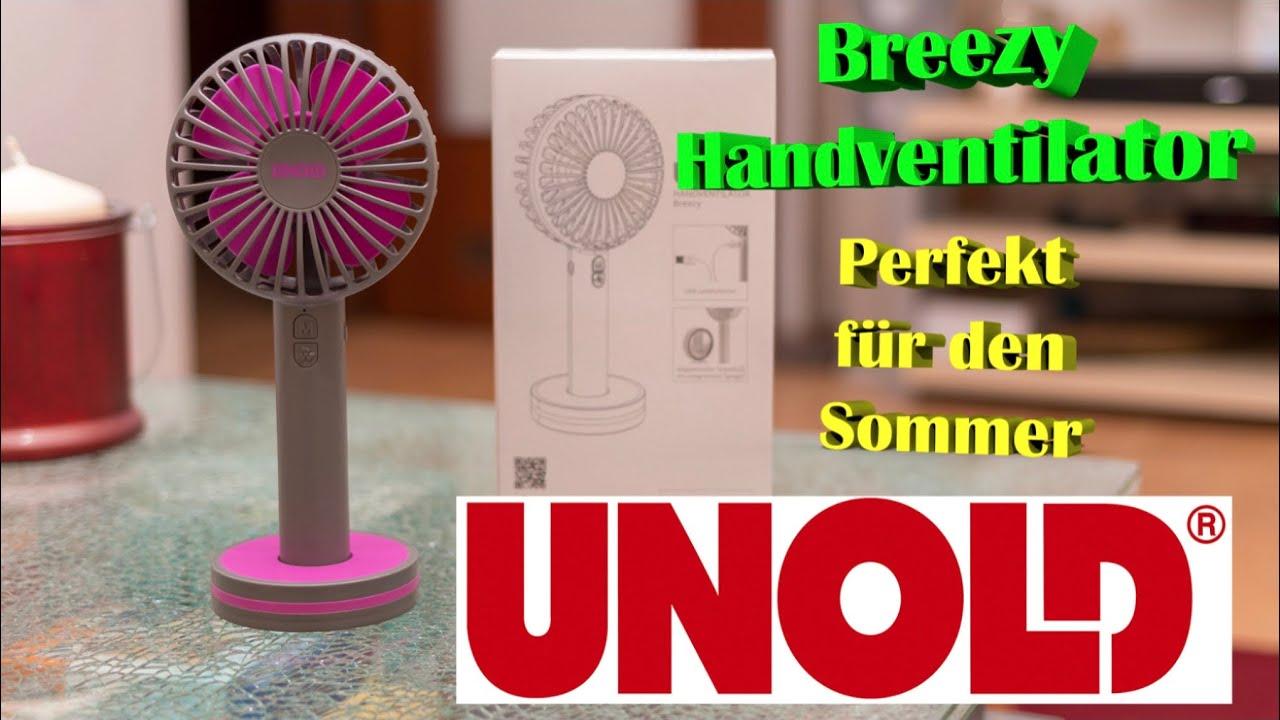 Unold Breezy Ventilator anthrazit