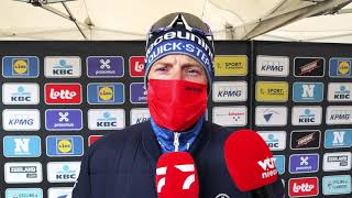 Watch Sam Bennett Shivering Uncontrollably After Scheldeprijs