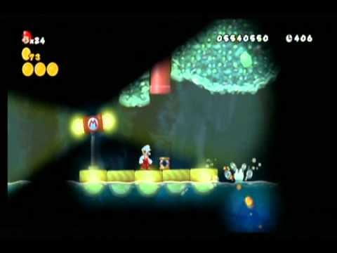 New Super Mario Bros Wii World 6 Secret Exits Youtube