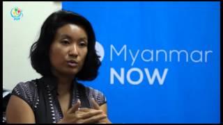 DVB TV - Myanmar Now News Agency သတင္းေထာက္ခ်ဳပ္ ေဒၚသင္းလဲ့၀င္း ႏွင့္ ေတြ႔ဆုံေမးျမန္းခန္း