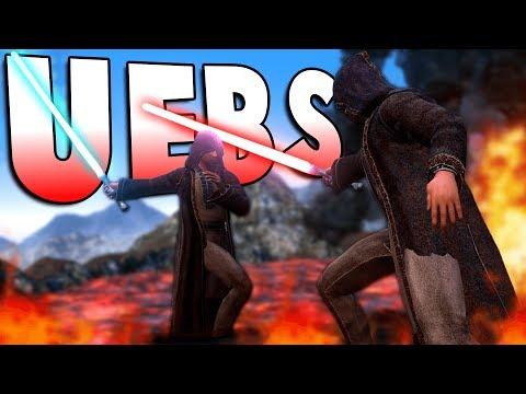 JEDI MASTERS BATTLE UPON VOLCANO! - Sci-Fi Update - UEBS Ultimate Epic Battle Simulator Gameplay