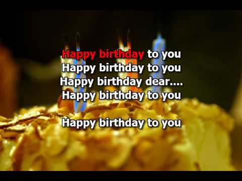 Karaoke Happy Birthday - Tanti Auguri