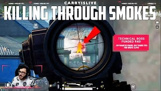 KILLING THROUGH SMOKES | EPIC GAMEPLAY PUBGM | CARRYMINATI HIGHLIGHT