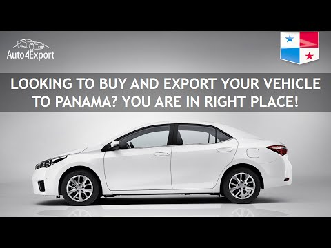 Shipping cars from USA to Panama - Auto4Export