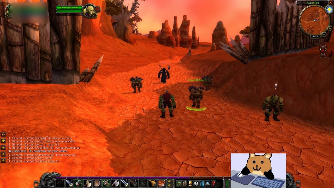 How To Remain In game Without Being Kicked (AFK) AVOID THE QUEUES in  Classic WoW -World of Warcraft