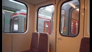 Czech Republic, Prague, metro ride from Nádraží Veleslavín to Nemocnice Motol