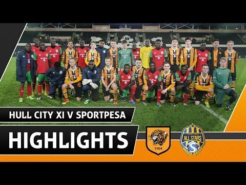 Hull City XI v SportPesa Allstars | Highlights | 27.02.17