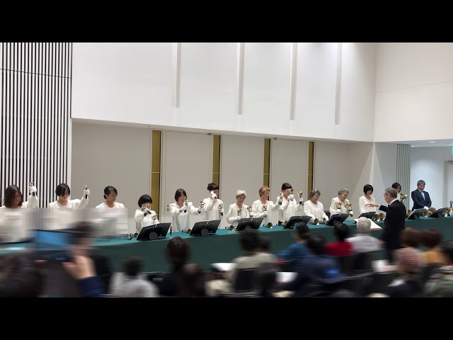 ハンドベルHandbell, It is well with my soul, Kobe YMCA Bell-choir, 2019 Dec