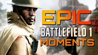 Battlefield 1: That Was Mental! Epic Multiplayer Moments! (PS4 PRO Gameplay)