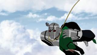 'Justice League vs. The Fatal Five' Clip Battle In the Sky Now or Later