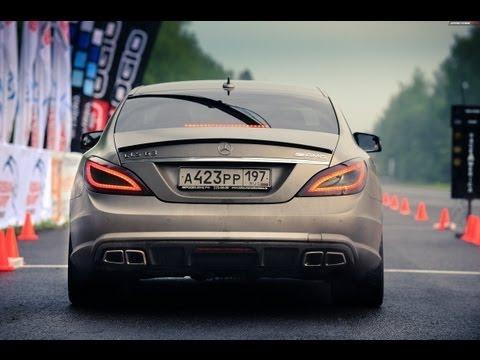 Mercedes CLS 63 AMG VS Mercedes S 65 AMG; Porsche Switzer R911 (1 mile – 25.5 sec.)