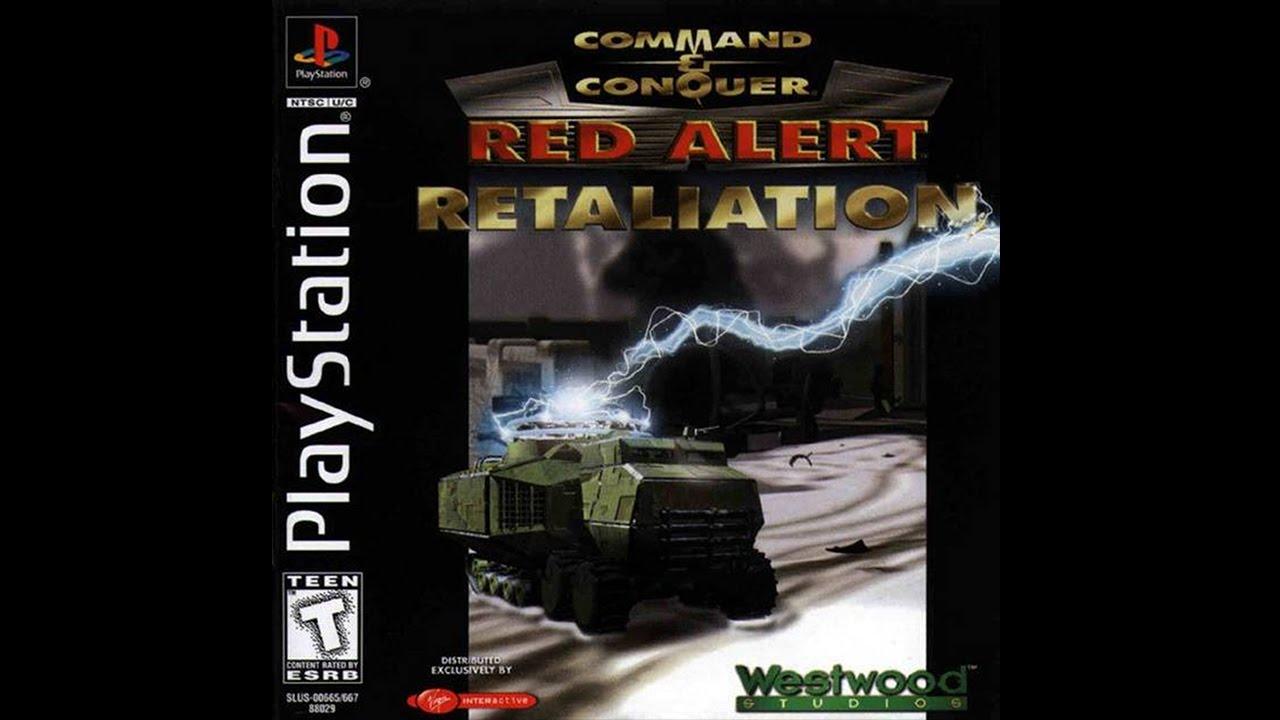 RED ALERT BAIXAR PS1 RETALIATION CONQUER & COMMAND