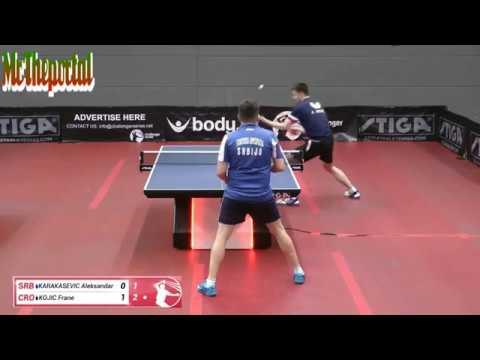 Table Tennis Challenger Series 2019 - Aleksandar Karakasevic Vs Frane Kojic -