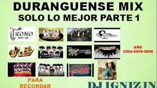 Dj Igniz - Grandes Exitos De La Musica Duranguense Mix (Año 2004-2005-2006) - Link De Descarga