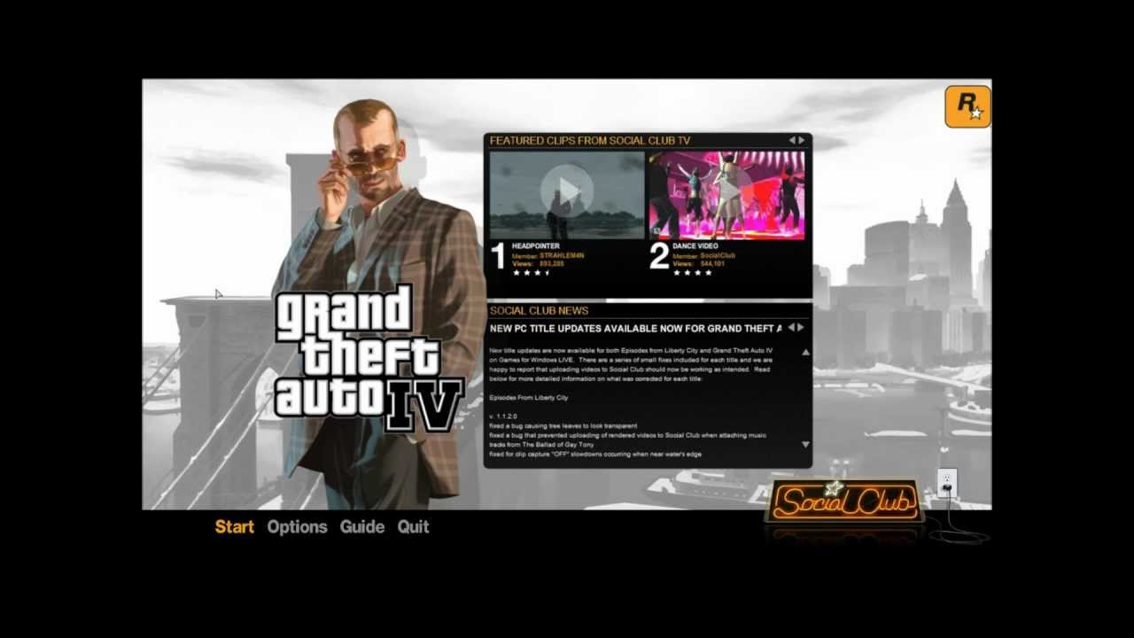 Gta Iv Games For Windows Live Chyba Aktualizace