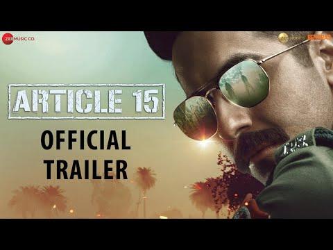 Article 15 - Trailer | Ayushmann Khurrana | Anubhav Sinha