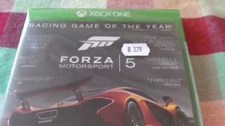 Forza 5 Motorsport Racing Game of The Year Edition Xbox One Unboxing