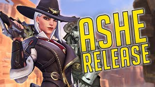 NEW HERO ASHE OFFICIAL RELEASE + Major Update! Overwatch [PS4]