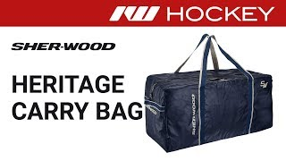 Sherwood Heritage Hockey Bag Review