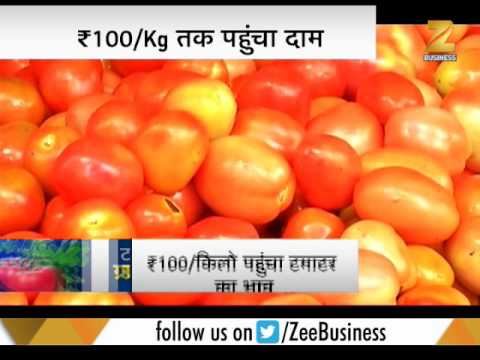 Tomato prices shoot up to Rs 80-100 per kg in Delhi | दिल्ली में टमाटर ₹ 80-100/Kg