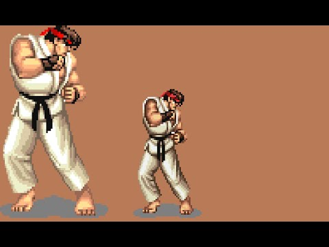 Ryu vs chun li - 1 part 8