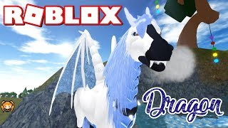ROBLOX HORSE WORLD DRAGON HORSE with LOTS of HORNS!