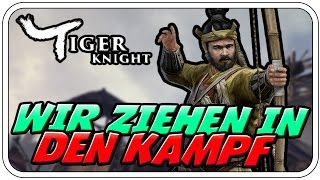 WIR ZIEHEN IN DEN KAMPF - ♠ TIGER KNIGHT: EMPIRE WAR #001 ♠ - Deutsch German - Dhalucard