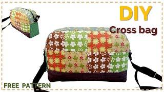 [Sewing] DIY 퀼트 가방 크로스백, 숄더백  …