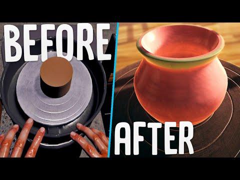 I Became A Master Pottery Maker In Virtual Reality - Dojagi Korean Pottery Simulator
