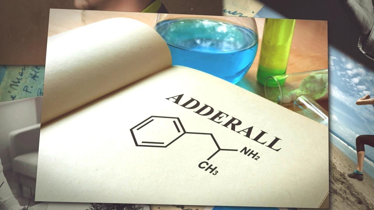 Adrafinil vs Adderall
