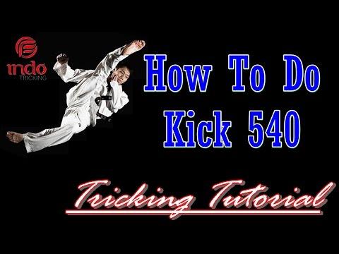 Tricking Tutorial Kick 540 IndoTricking thumbnail