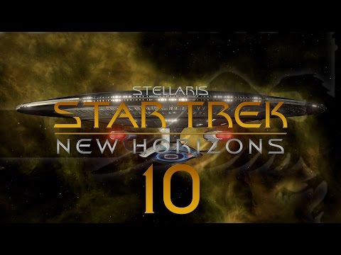 Stellaris Star Trek #10 STAR TREK NEW HORIZONS MOD - Gameplay / Let's Play