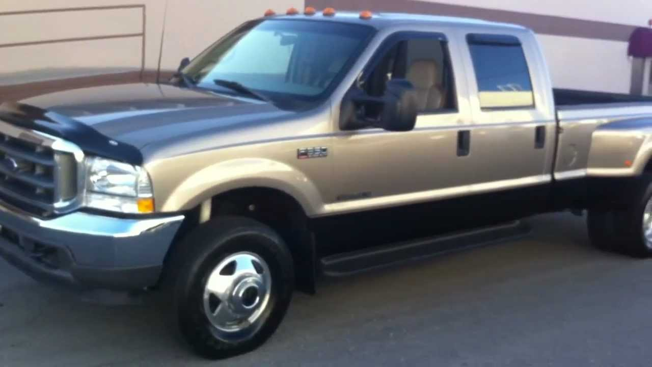 2002 f350 dually weight