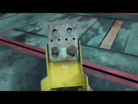 Напольный стапель для кузовного ремонта, своими руками