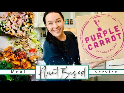 My First Time Using Purple Carrot! | My Review & Recipes of the Week!