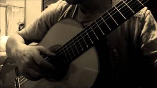 gentle hand  original song for classical guitar by YASUpochiGuitar