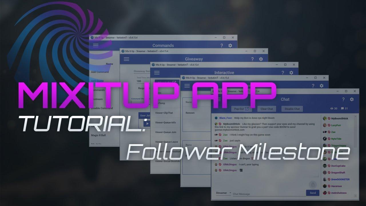 Mixitup - Follower Milestone