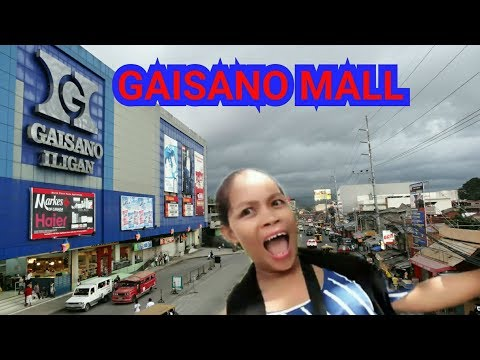 GAISANO MALL: ONE OF BIGEST MALL: ILIGAN CITY MINDANAO VLOG#9