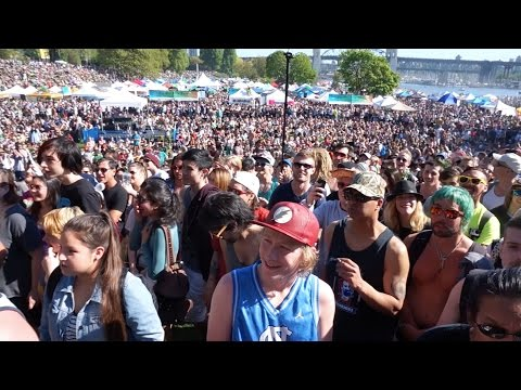Oh Cannabis! Sang at 420 Vancouver 2016 by Neil Magnuson