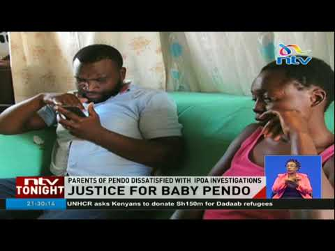 IPOA cannot recommend criminal charges for baby Pendo killers