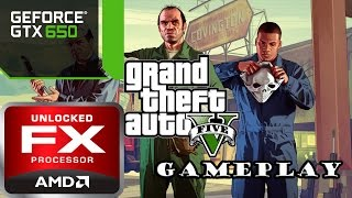 Grand Theft Auto V | PART 1 | PC Gameplay | 60 FPS | FX 8350 |GTX 650
