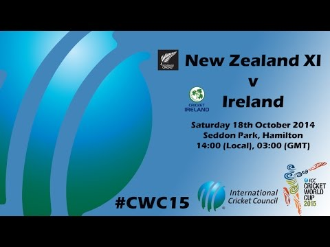 ICC New Zealand XI v Ireland