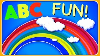Learn ABC Alphabet!  Fun Educational ABC Alphabet Video For Kids, Kindergarten, Toddlers, Babies