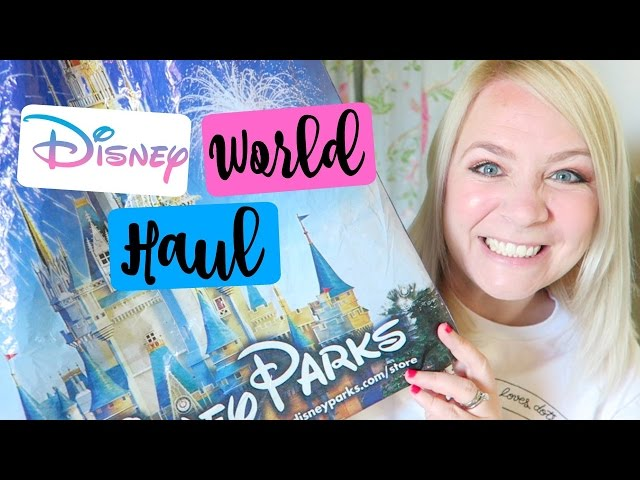 DISNEY WORLD HAUL 2017! Stuff I Didn't Need BUT WANTED!
