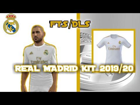 FTS/DLS REAL MADRID KIT 2019/20