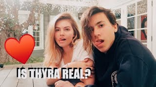 IS THYRA REAL?!  w/ Thylane Blondeau